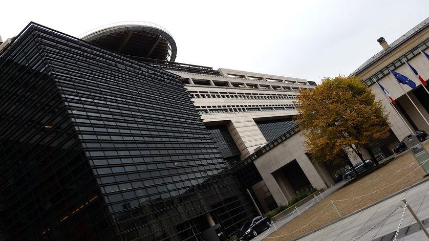 Ministère de l'économie et des finances, Bercy , en octobre 2015