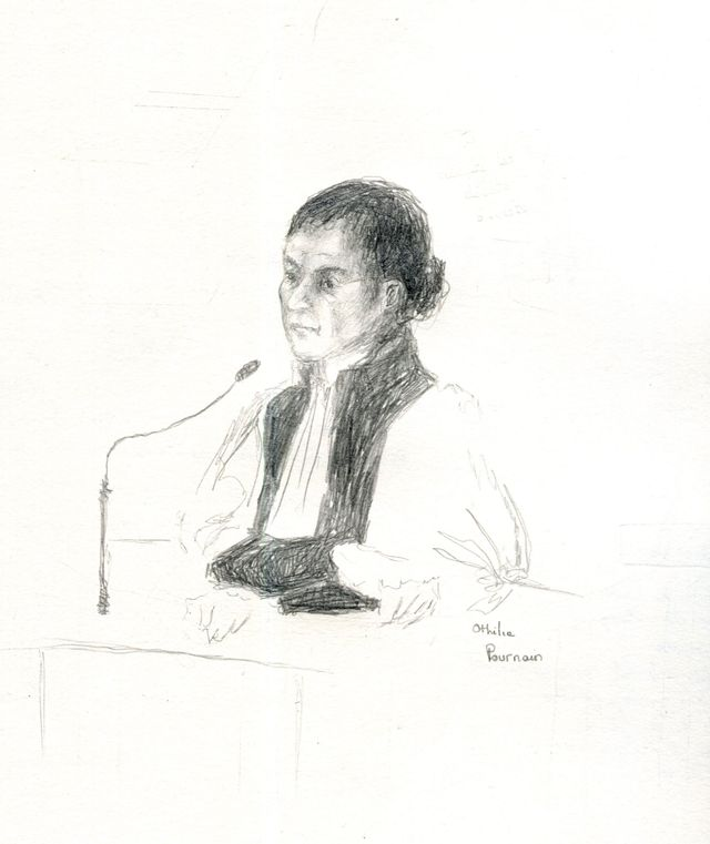 La présidente Anne Leprieur par Othilie Pournain