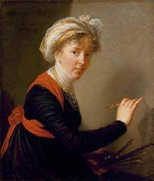Elisabeth Louise Vigée Le Brun Portrait par elle-même 1800 huile sur toile ; 78,5 x 68 cm