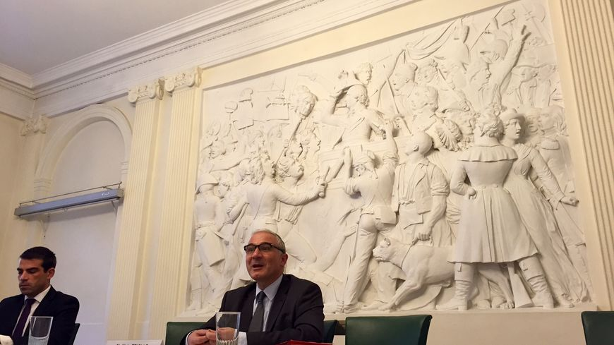 Le préfet de l'Ardèche Alain Triolle, en octobre 2015