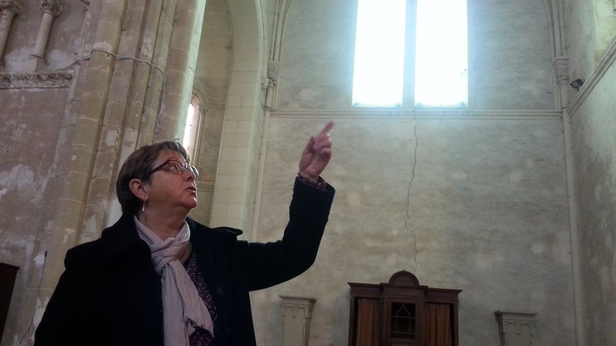 Françoise Levrard, le maire de Vion