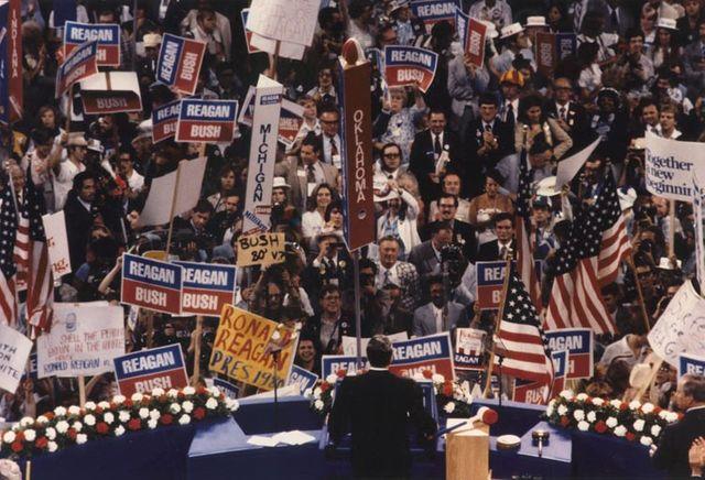 Discours d'acceptation de Ronald Reagan lors de la convention nationale républicaine à Détroit le 17 juillet 1980