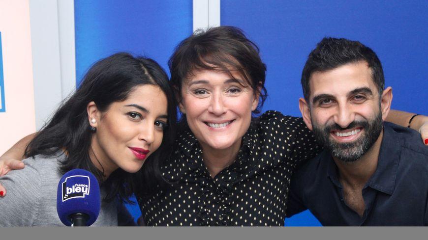 Leïla Bekhti, Daniela Lumbroso et Kheiron