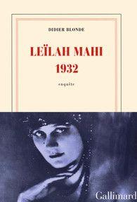 Didier Blonde - Leïlah Mahi 1932