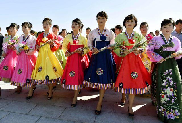 Répétitions au millimètres de la parade de ce samedi à Pyongyang