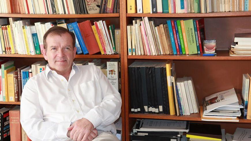 Martial Menard, président d'honneur du Salon du Livre en Bretagne