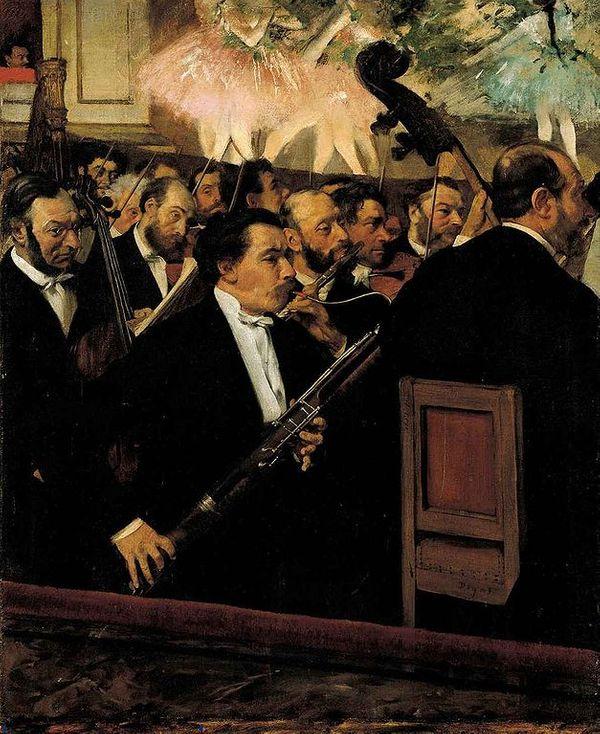 Degas Orchestre de l'opéra