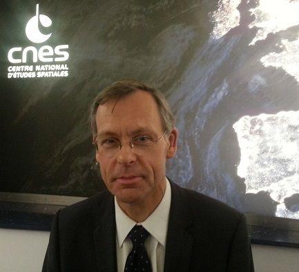Jacques Arnould, charge de mission pour les questions éthiques au CNES, octobre 2015