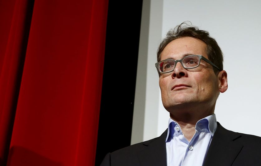 Swiss People's Party (SVP) newly elected National Councillor Roger Koeppel.
