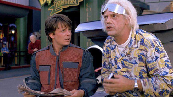 """""""Retour vers le futur II"""", Marty et Doc arrivent le 21 octobre 2015"""