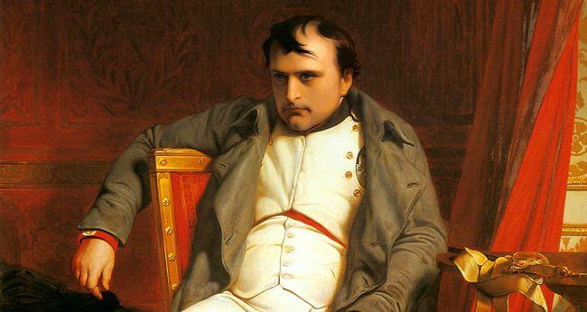 Portrait de Napoléon Ier après ses adieux à Fontainebleau, Paul Delaroche, 1840