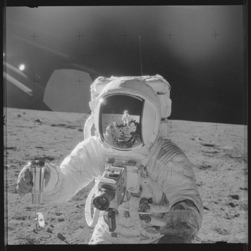 La mission Apollo 12, lorsque l'homme a posé le pied sur la Lune pour la 2e fois