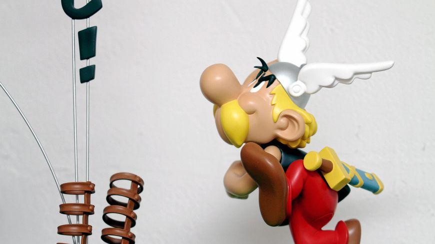 Une figurine à l'effigie d'Astérix (illustration)