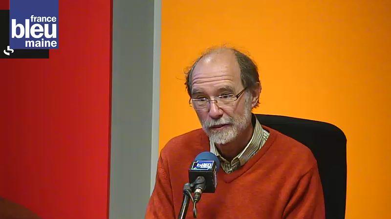 Bernard Lebrun, responsable de RESF en Sarthe