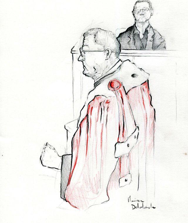 L'avocat général Olivier Tcherkessof par Maxime Delalande