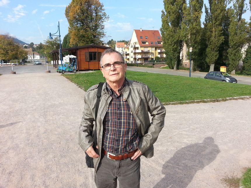 Gilbert Jelen militait pour la création du golf public de la Sommerau