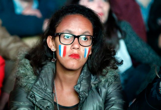 la déception du camp français