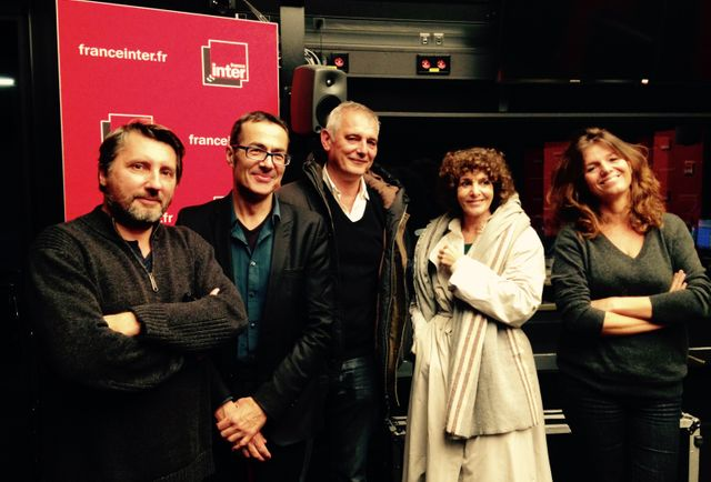 Bruno Podalydès, Dominique Kalifa, Laurent Cantet, Geneviève Brisac et Maylis de Kerangal