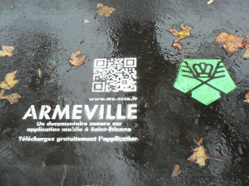 la promotion du site est déja sur les trottoirs stéphanois