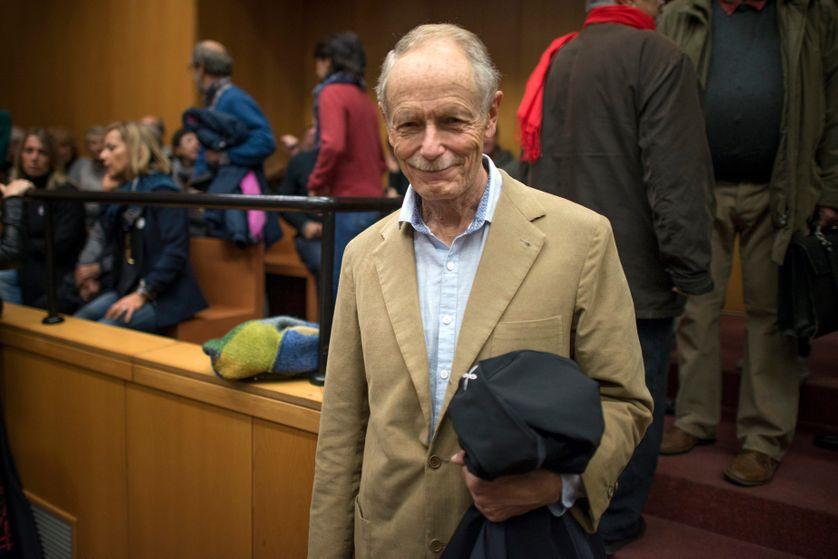 Erri De Luca au tribunal de Turin le 19 octobre 2015