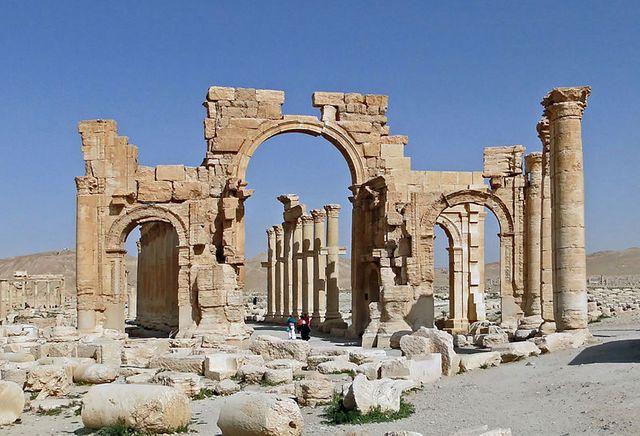 L'Arche monumentale de Palmyre