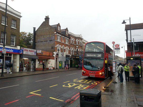 Le quartier de Tottenham, à Londres, en octobre 2015