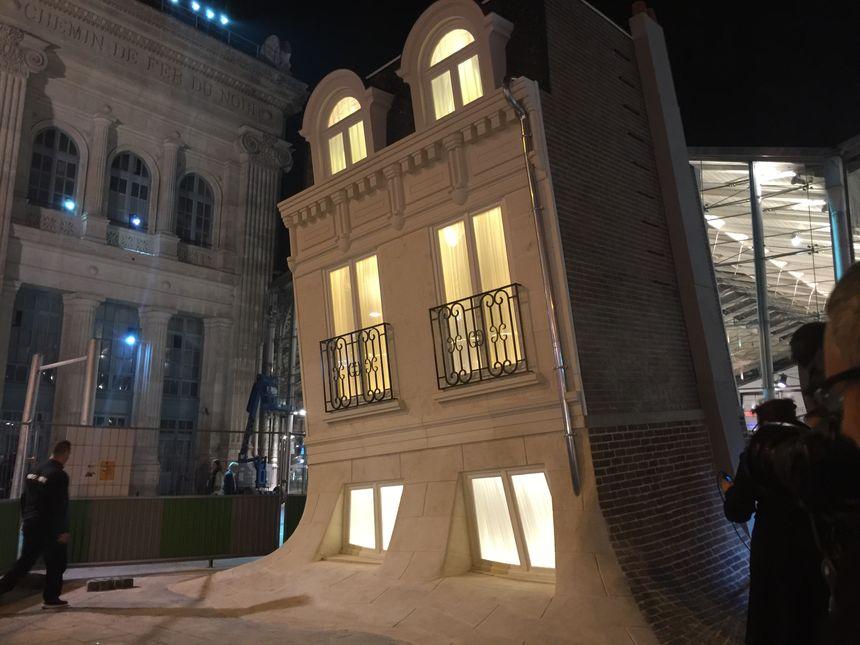 La Maison Fond restera en place après la Nuit Blanche