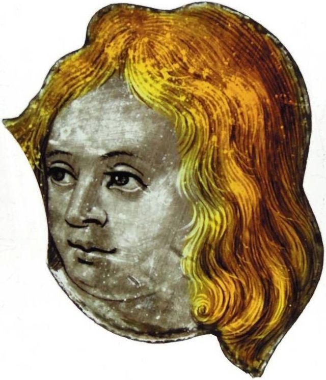Tete-d-ange de la Cathédrale de Lyon