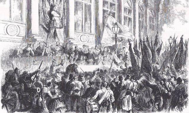 Proclamation de la commune