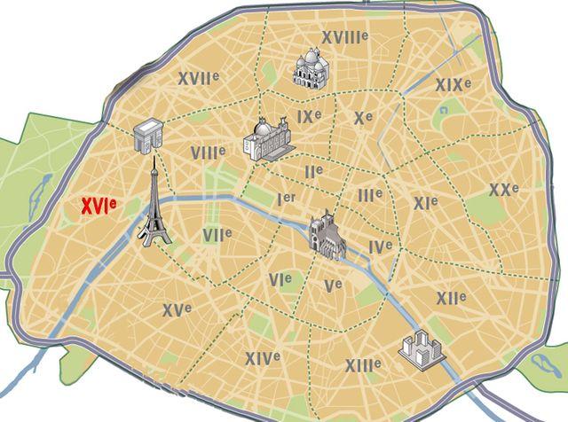 infographie Paris 16e