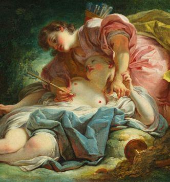 """Fragonard amoureux, galant et libertin"""