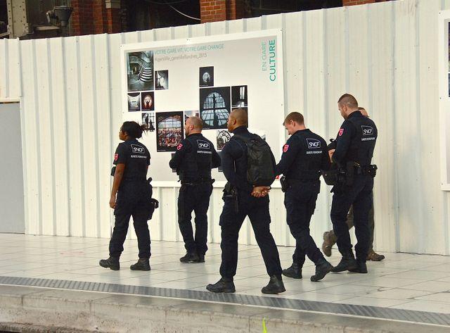Des agents sncf bientôt avec de nouveaux pouvoirs, ici gare de Lille-Flandres
