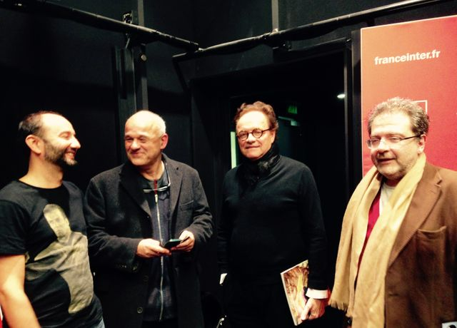 Sebastien Gokalp, Philippe Dagen, Guillaume Durand et Hector Obalk