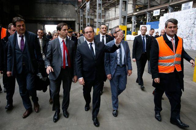 Hollande à La Courneuve