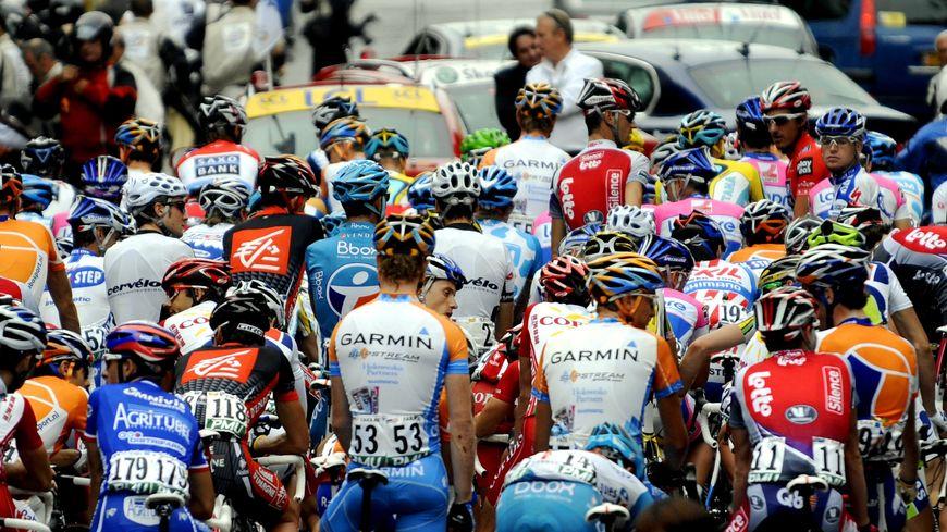 Départ du Tour de France de Limoges en 2009 pour Issoudun