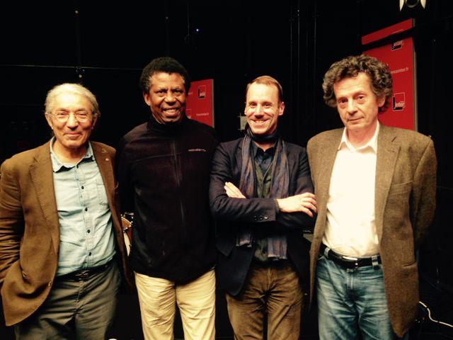 Boualem Sansal, Dany Laferrière, Thomas Clerc et Hédi Kaddour