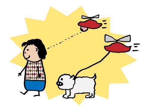 Des drones domestiques pour faire des selfies ou promener son chien
