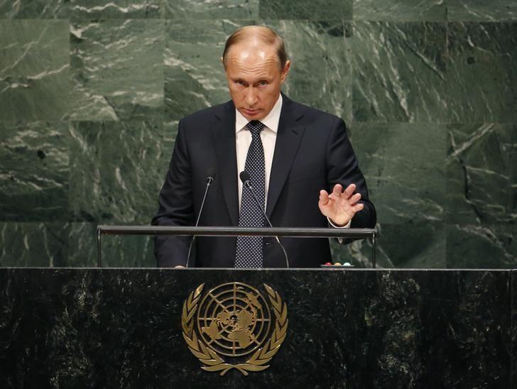 Discours de Vladimir Poutine à l'ONU le 28 septembre 2015
