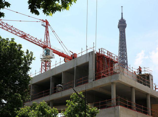 Selon l'Insee, la croissance est notamment plombée par le recul de l'investissement en construction
