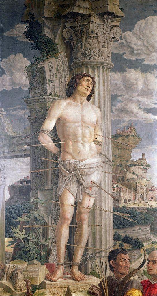 Saint Sebastian par Andrea Mantegna