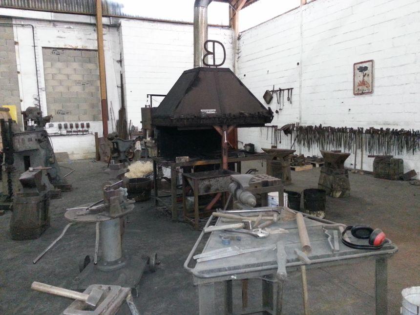 L'atelier de Dominique ROBERT à Aubevoye