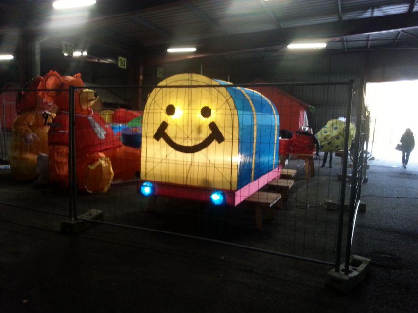 Le nouveau train du Père Noël des Sentiers du Père Noël