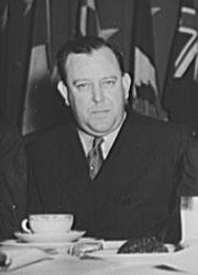 Trygve Lie (Norvège), premier Secrétaire général de l'ONU de 1946 à 1952