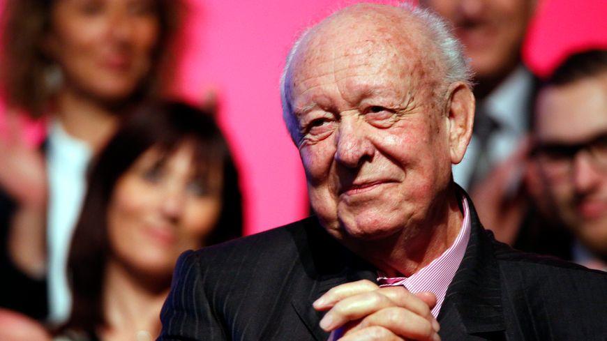 Jean-Claude Gaudin, sénateur maire de Marseille