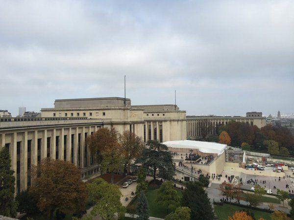 Le Palais de Chaillot, écrin du Musée de l'Homme
