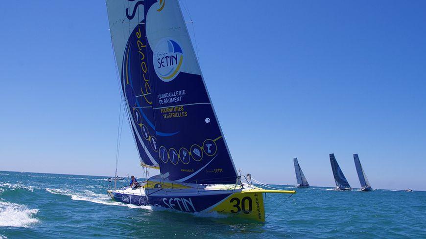 Le class 40 sponsorisé par Sétin