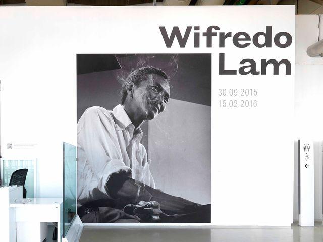 Entrée de la rétrospective Wifredo Lam