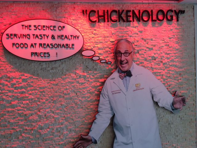 Christian, roi du poulet