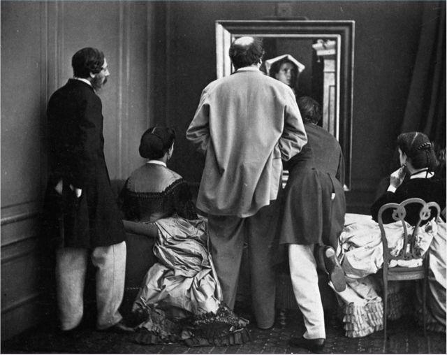 Olympe Aguado, Admiration! vers 1860