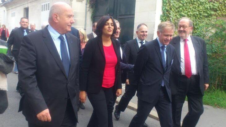 La ministre Myriam El Khomri était en visite en Touraine